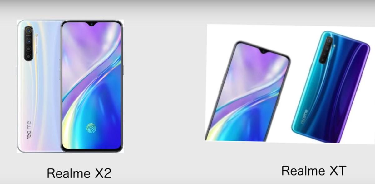 Realme X2 Vs Realme XT Compare