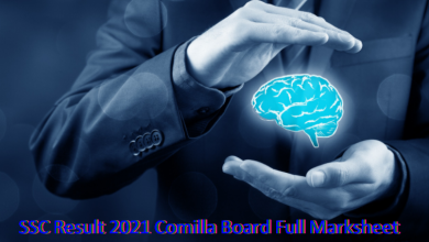 SSC Result 2021 Comilla Board Full Marksheet