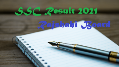 SSC Result 2021 Rajshahi Board