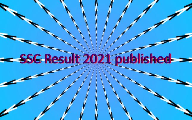 SSC Result 2021 published