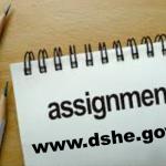 Assignment Syllabus Class 9, 8, 7 & 6 Short Answer