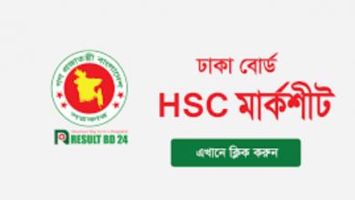 Dhaka Board HSC / Equivalent Result 2021
