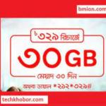 Robi 30 GB Free Internet Offer 2021