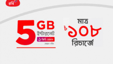 Robi Minute And Internet Combo Offer 2021