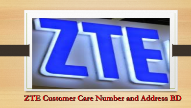 ZTE Customer Care Number and Address, Bangladesh