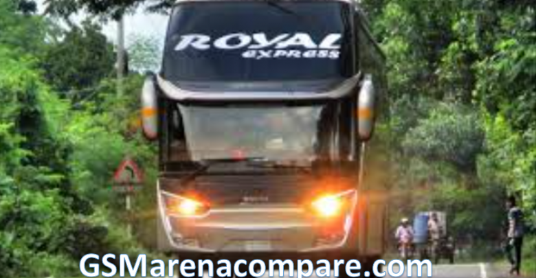 Royal Express bus schedule ticket counter and contact number