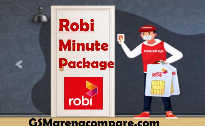 Robi Minute Package