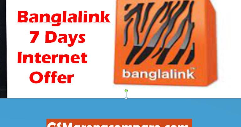 Banglalink 7 Days Internet Offer