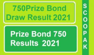 Prize Bond Draw Details 2021