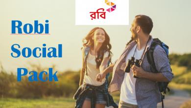 Robi Social Pack 2021