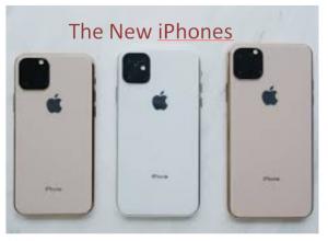 The New iPhones