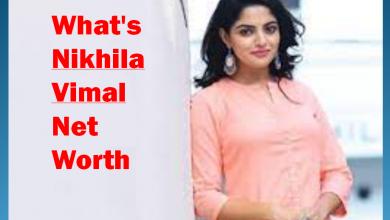 What's Nikhila Vimal Net Worth