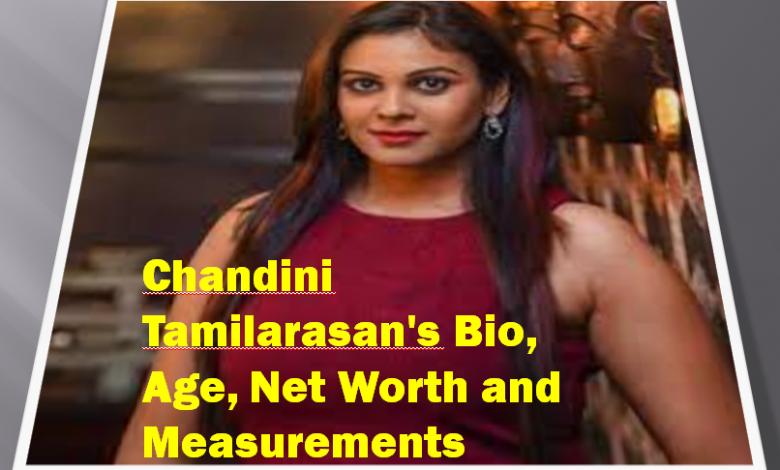 Chandini Tamilarasan's Bio, Age, Net Worth and Measurements